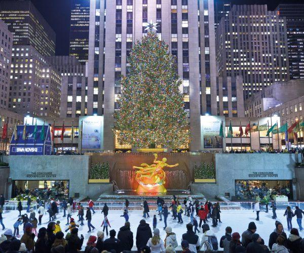New York albero natale